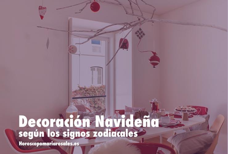 decoracion navideña segun signos zodiacales