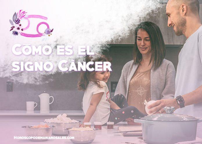 Como es el signo cancer