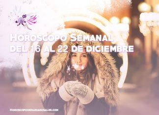 horoscopo semanal del 16 al 22 diciembre