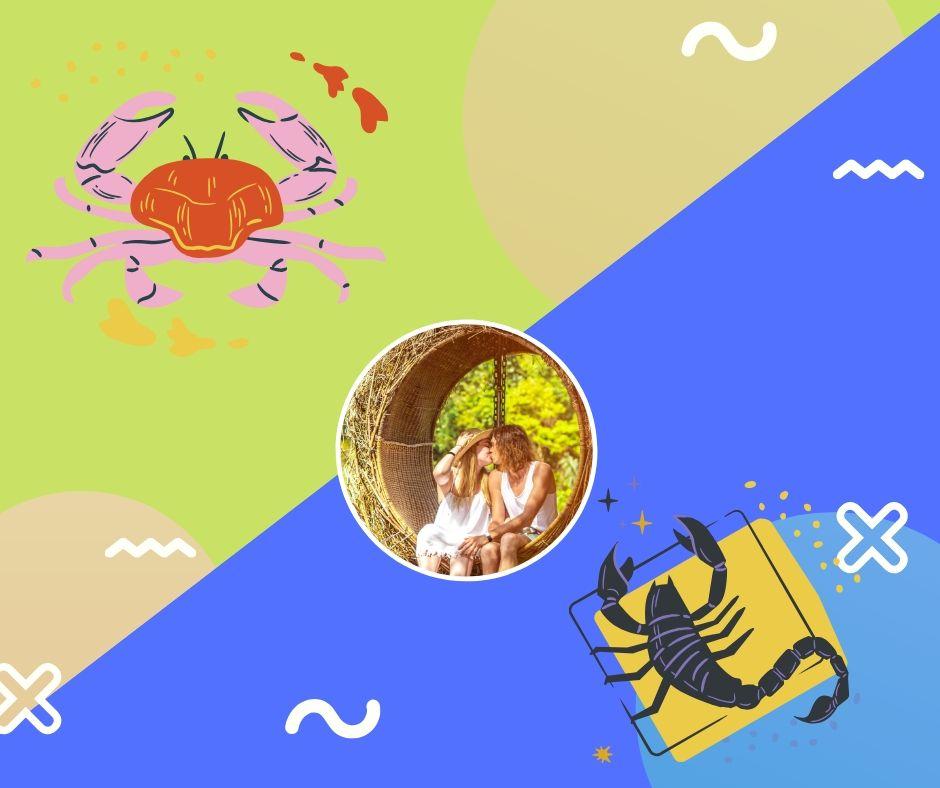 cancer y escorpio en el amor