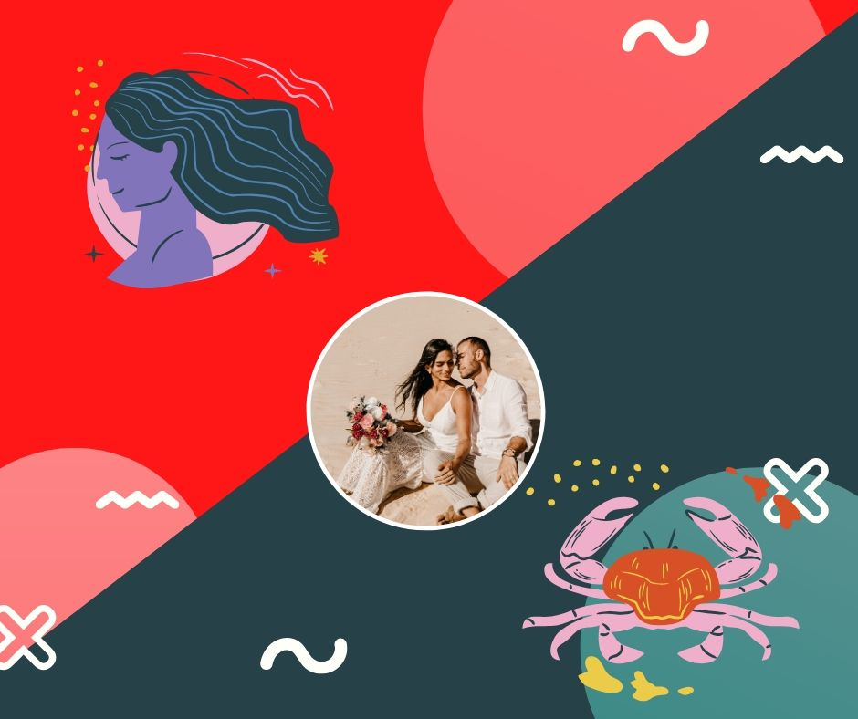 virgo y cancer en el amor