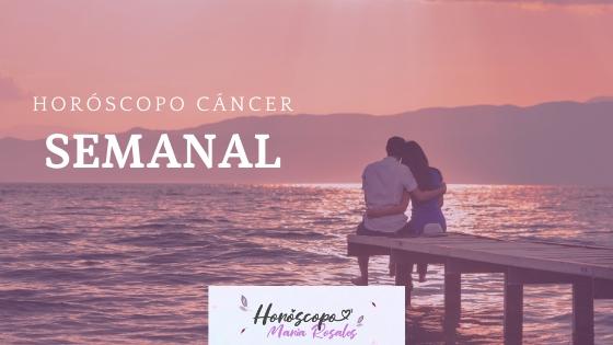 Horóscopo semanal cancer
